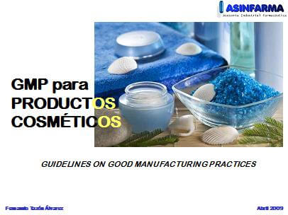 Las GMP en la fabricación de cosméticos