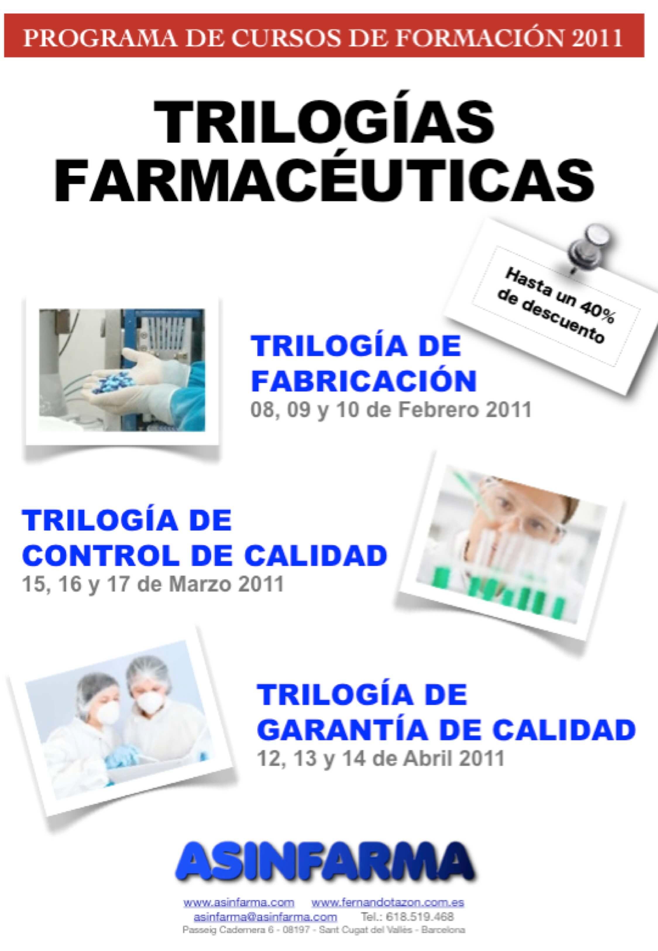 Trilogías Farmacéuticas