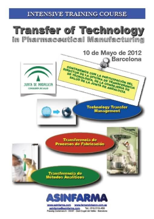 Transferencia de Tecnología en Industria Farmaceutica