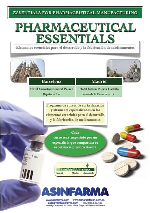 Pharmaceutical Essentials 2012