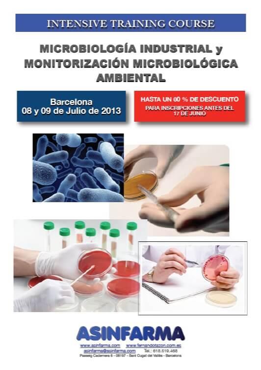 Curso Microbiología y Monitorización Ambiental
