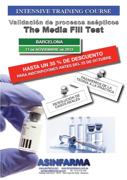 Media Fill Test – Validación de Procesos Asépticos