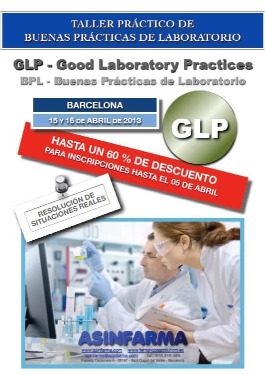 GLP – Buenas Practicas de Laboratorio – BPL