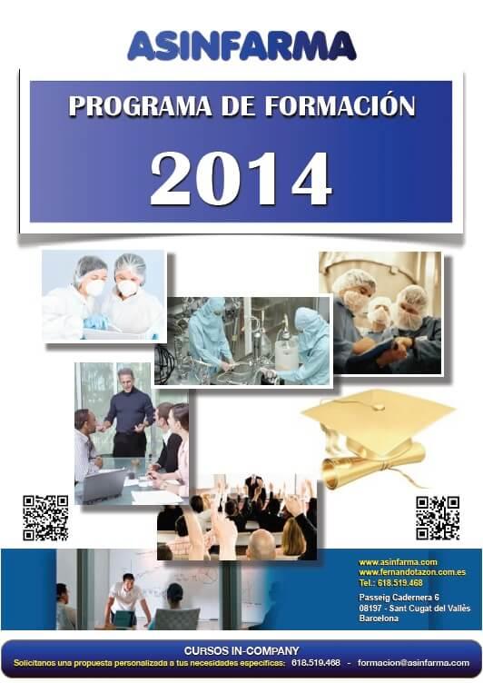 Programa de Formacion 2014
