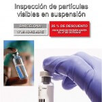 Inspección de partículas visibles en suspensión