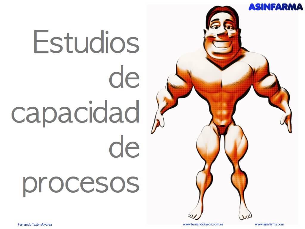 Estudios de capacidad de procesos