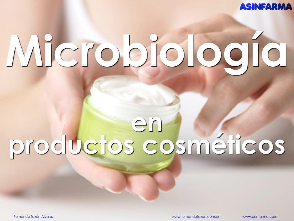 Microbiologia en productos cosmeticos