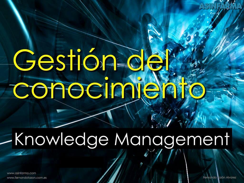 Gestión del Conocimiento – Knowledge Management