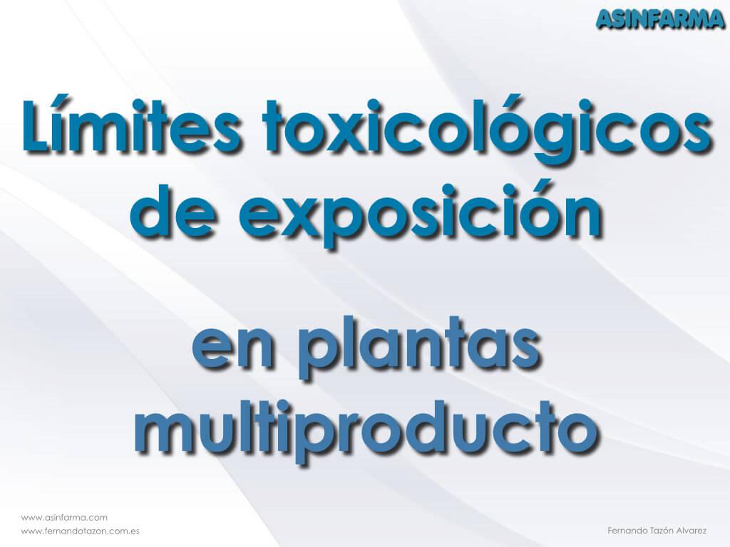 Contaminación cruzada en plantas multiproducto