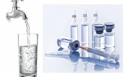 Impurezas críticas en agua farmacéutica