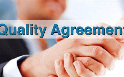 Quality Agreements para contratos de fabricación comercial por terceros