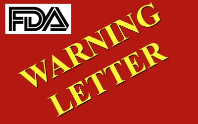 Nueva Warning Letter de FDA por deficiencias en la validación de procesos