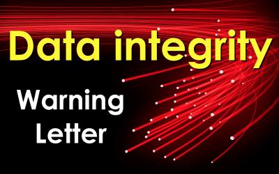 Warning Letter por problemas de integridad de datos