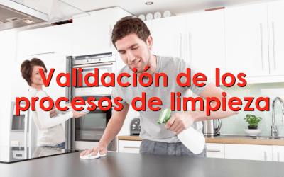 Validación de los procesos de limpieza