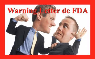 Warning Letter por deficiencias de integridad de datos en fabricación de comprimidos