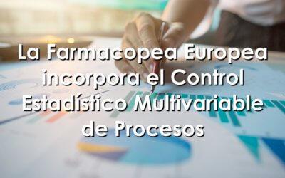 Control estadístico de procesos en la farmacopea europea