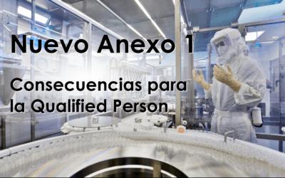 Consecuencias del Anexo 1 para la QP