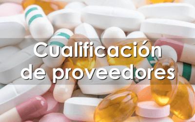 Requisitos GMP para la cualificación de proveedores