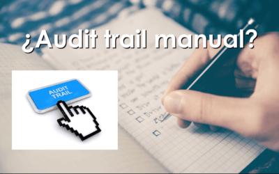¿Es posible usar un sistema informático que no tenga audit trail?