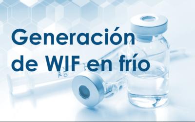 Generación de WIF en frío