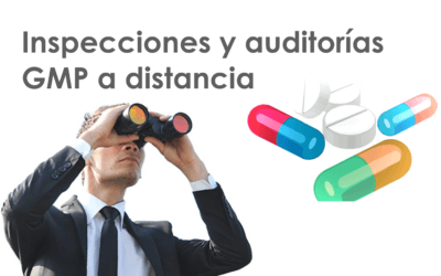 Inspecciones y auditorías GMP a distancia