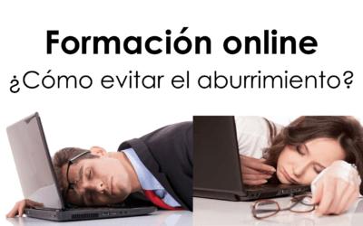 Formación Online: ¿Cómo evitar el aburrimiento?