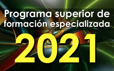 Programa de formación 2021